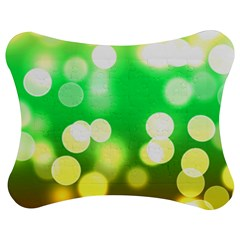 Soft Lights Bokeh 3 Jigsaw Puzzle Photo Stand (bow)