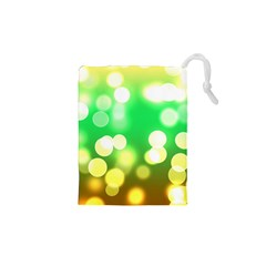 Soft Lights Bokeh 3 Drawstring Pouches (xs)