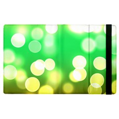 Soft Lights Bokeh 3 Apple Ipad Pro 9 7   Flip Case