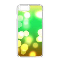 Soft Lights Bokeh 3 Apple Iphone 8 Plus Seamless Case (white)