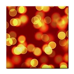 Soft Lights Bokeh 4 Tile Coasters