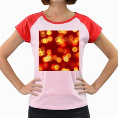 Soft Lights Bokeh 4 Women s Cap Sleeve T Shirt