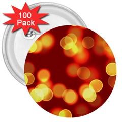 Soft Lights Bokeh 4 3  Buttons (100 Pack)