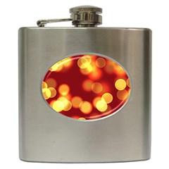 Soft Lights Bokeh 4 Hip Flask (6 Oz)