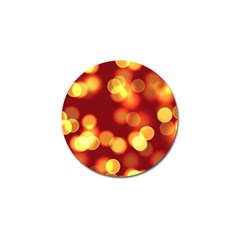 Soft Lights Bokeh 4 Golf Ball Marker (10 Pack)