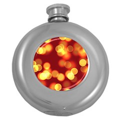 Soft Lights Bokeh 4 Round Hip Flask (5 Oz)