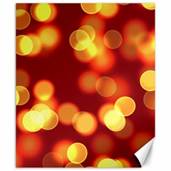 Soft Lights Bokeh 4 Canvas 20  X 24