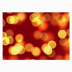 Soft Lights Bokeh 4 Large Glasses Cloth