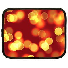 Soft Lights Bokeh 4 Netbook Case (large)