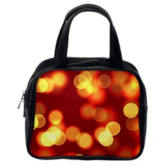 Soft Lights Bokeh 4 Classic Handbags (one Side)
