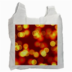Soft Lights Bokeh 4 Recycle Bag (two Side)