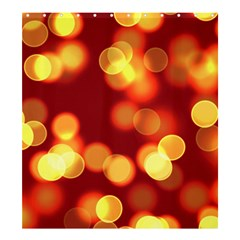 Soft Lights Bokeh 4 Shower Curtain 66  X 72  (large)