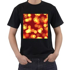 Soft Lights Bokeh 4 Men s T Shirt (black)