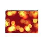 Soft Lights Bokeh 4 Cosmetic Bag (Large)  Front
