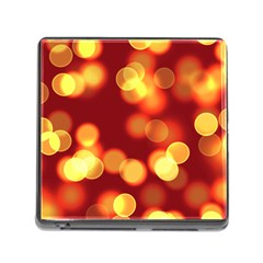 Soft Lights Bokeh 4 Memory Card Reader (square)