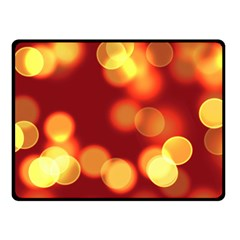 Soft Lights Bokeh 4 Fleece Blanket (small)