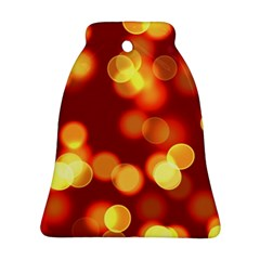 Soft Lights Bokeh 4 Bell Ornament (two Sides)