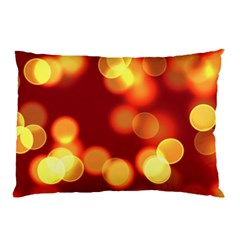 Soft Lights Bokeh 4 Pillow Case (two Sides)
