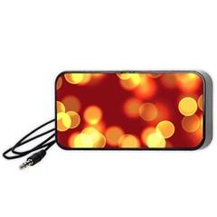 Soft Lights Bokeh 4 Portable Speaker