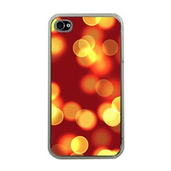 Soft Lights Bokeh 4 Apple Iphone 4 Case (clear)