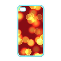Soft Lights Bokeh 4 Apple Iphone 4 Case (color)