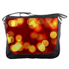 Soft Lights Bokeh 4 Messenger Bags