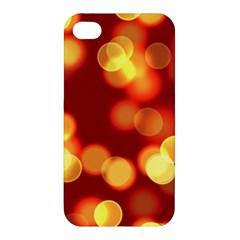 Soft Lights Bokeh 4 Apple Iphone 4/4s Premium Hardshell Case