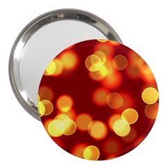 Soft Lights Bokeh 4 3  Handbag Mirrors
