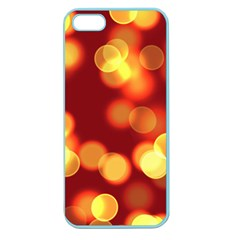 Soft Lights Bokeh 4 Apple Seamless Iphone 5 Case (color)