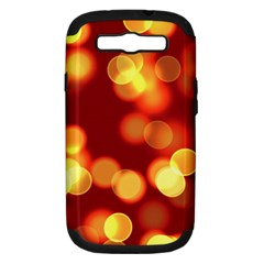 Soft Lights Bokeh 4 Samsung Galaxy S Iii Hardshell Case (pc+silicone)