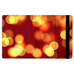 Soft Lights Bokeh 4 Apple Ipad 2 Flip Case