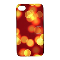 Soft Lights Bokeh 4 Apple Iphone 4/4s Hardshell Case With Stand