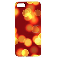 Soft Lights Bokeh 4 Apple Iphone 5 Hardshell Case With Stand