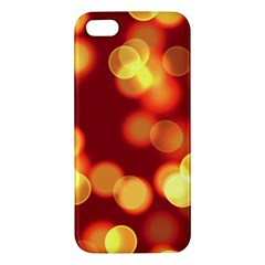 Soft Lights Bokeh 4 Apple Iphone 5 Premium Hardshell Case
