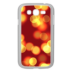 Soft Lights Bokeh 4 Samsung Galaxy Grand Duos I9082 Case (white)