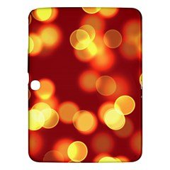 Soft Lights Bokeh 4 Samsung Galaxy Tab 3 (10 1 ) P5200 Hardshell Case