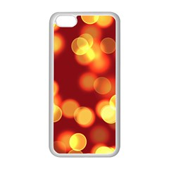Soft Lights Bokeh 4 Apple Iphone 5c Seamless Case (white)