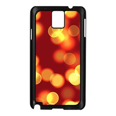 Soft Lights Bokeh 4 Samsung Galaxy Note 3 N9005 Case (black)