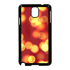 Soft Lights Bokeh 4 Samsung Galaxy Note 3 Neo Hardshell Case (black)