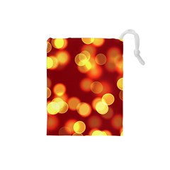 Soft Lights Bokeh 4 Drawstring Pouches (small)
