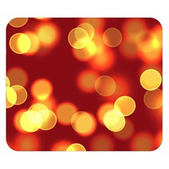 Soft Lights Bokeh 4 Double Sided Flano Blanket (small)