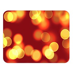 Soft Lights Bokeh 4 Double Sided Flano Blanket (large)