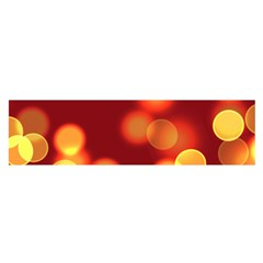 Soft Lights Bokeh 4 Satin Scarf (oblong)