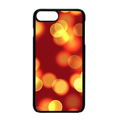 Soft Lights Bokeh 4 Apple Iphone 7 Plus Seamless Case (black)