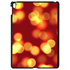 Soft Lights Bokeh 4 Apple Ipad Pro 9 7   Black Seamless Case