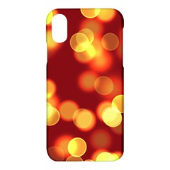 Soft Lights Bokeh 4 Apple Iphone X Hardshell Case