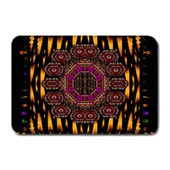 A Flaming Star Is Born On The  Metal Sky Plate Mats