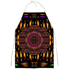 A Flaming Star Is Born On The  Metal Sky Full Print Aprons