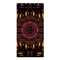A Flaming Star Is Born On The  Metal Sky Shower Curtain 36  X 72  (stall)