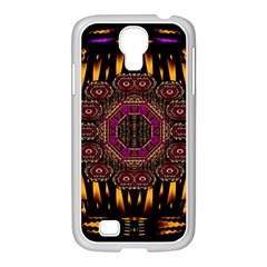 A Flaming Star Is Born On The  Metal Sky Samsung Galaxy S4 I9500/ I9505 Case (white)